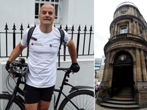 Investment banker led police on 20-minute chase through London on a pushbike