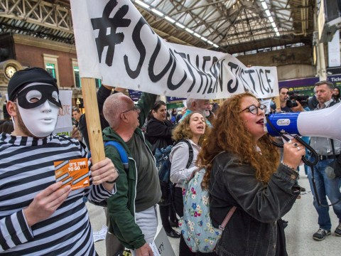 Southern rail is terminating the contracts of striking workers