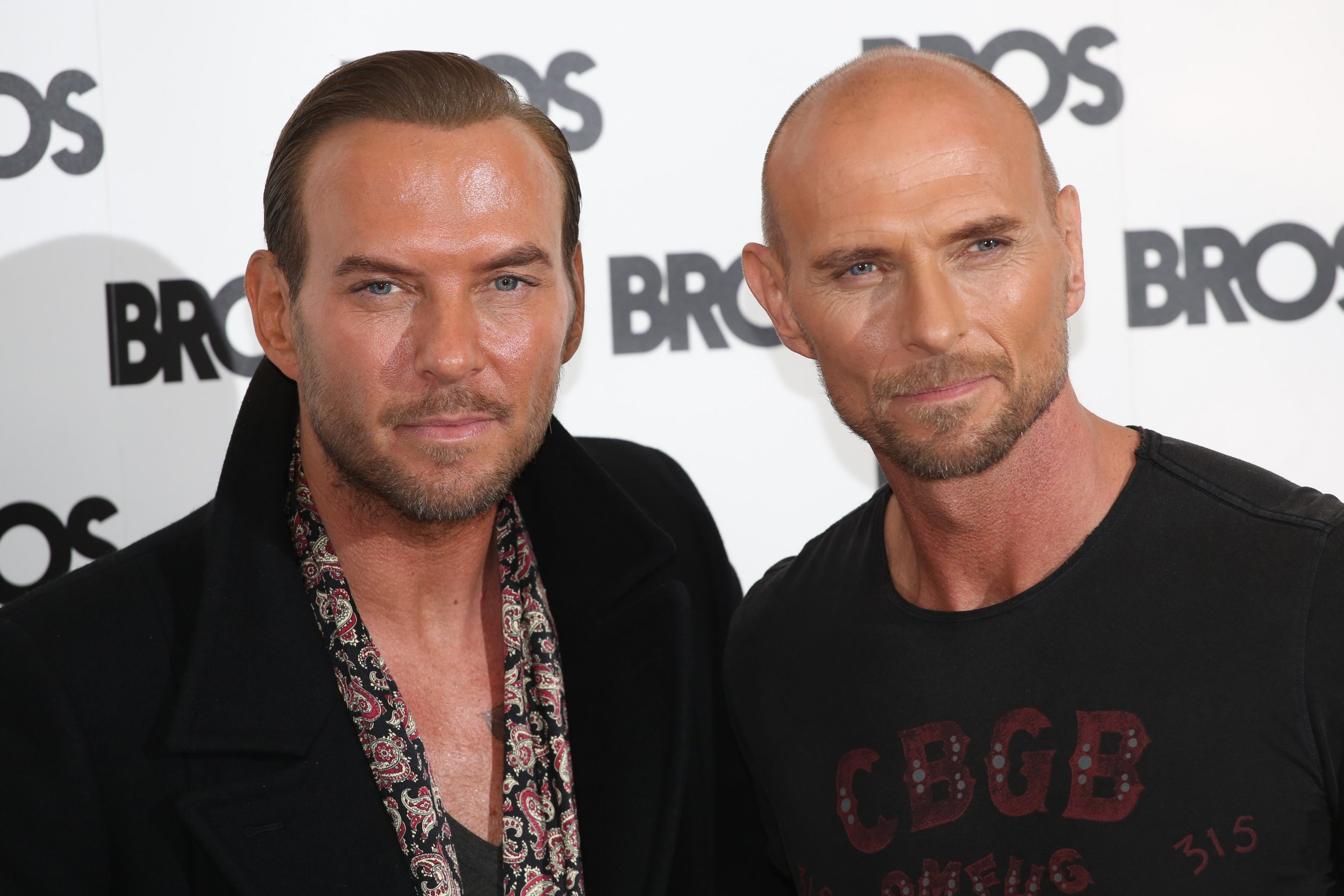 Bros reunited after Matt and Luke 'didn't speak to each other for a decade'