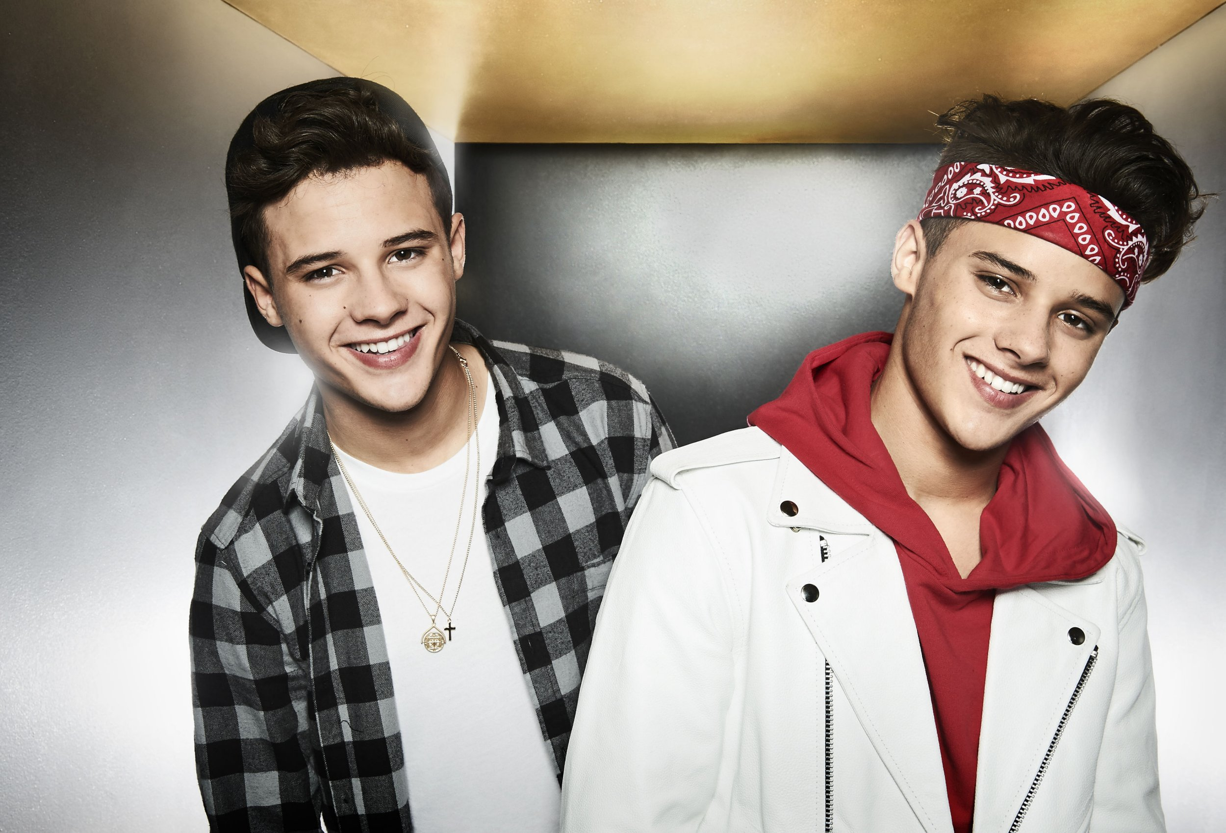 Former X Factor hopefuls Brooks Way are believed to be in contract talks with Syco (Picture: Syco/Thames/Burmiston/PA Wire)
