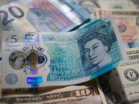 It's now less than one euro to the pound – cheers Brexit