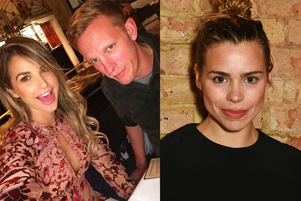 Has Laurence Fox moved on from Billie Piper with Vogue Williams?