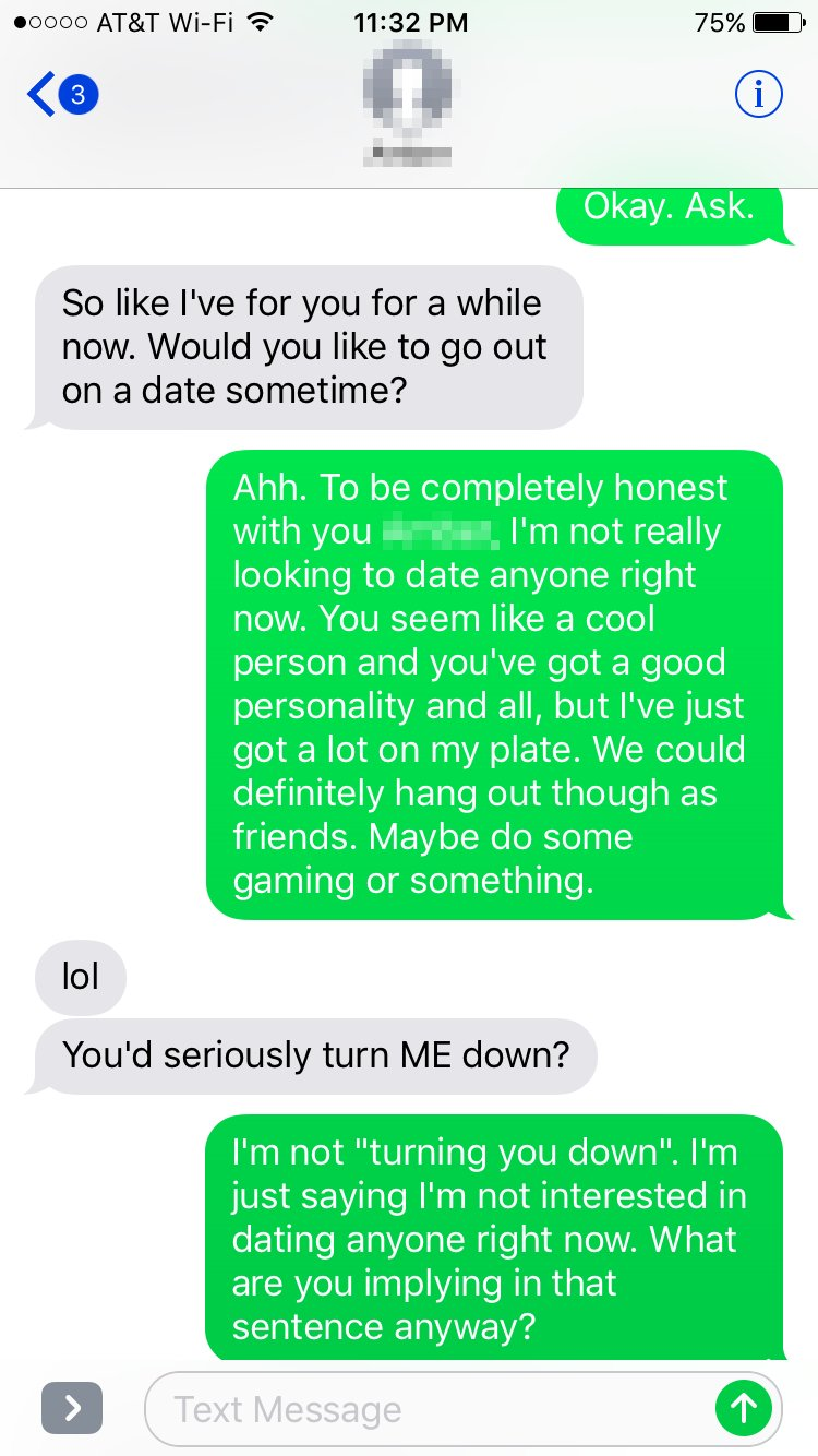 How to ask a girl to date over text