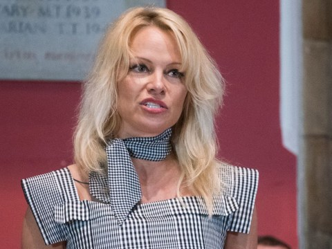 Pamela Anderson gives lecture on porn at Oxford University and lays down some truths