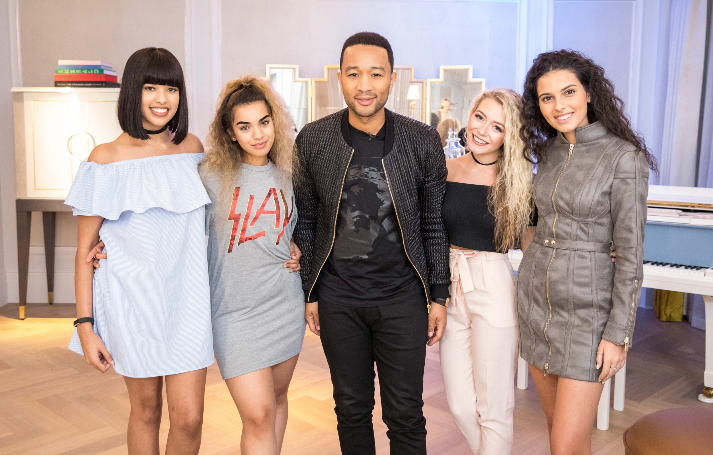 John Legend just rocked up to the X Factor house for a surprise masterclass
