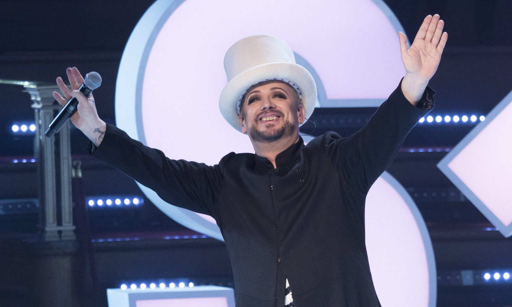 In case you missed it, here's Boy George's cover of David Bowie's Starman that had Stand Up To Cancer viewers blubbing