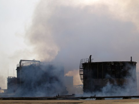 Civilians 'killed' and thousands hospitalised by toxic gas from plant Isis blew up