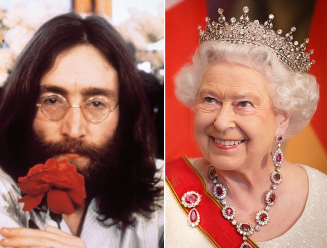 lennon queen.jpg A letter from John Lennon to the Queen discovered