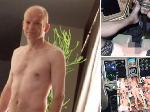 X-rated photos 'show British Airways pilot performing sex act on himself during flight'