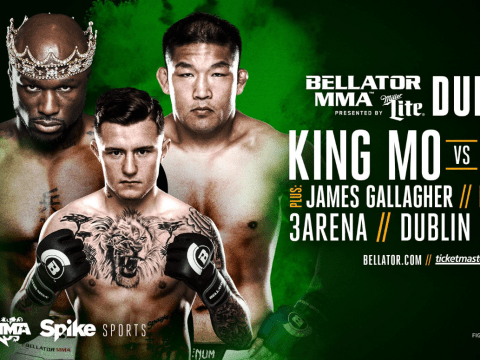 Bellator MMA and BAMMA confirm December 16 co-event in Dublin with James Gallagher and 'King Mo' Lawal on fight card