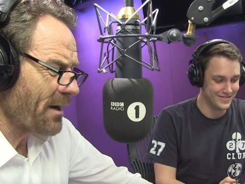 Bryan Cranston dramatically reads Little Mix Shout Out To My Ex lyrics on Radio 1 and it's everything