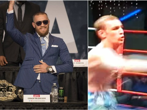 Video: Conor McGregor begins journey to UFC stardom with first MMA fight aged 18
