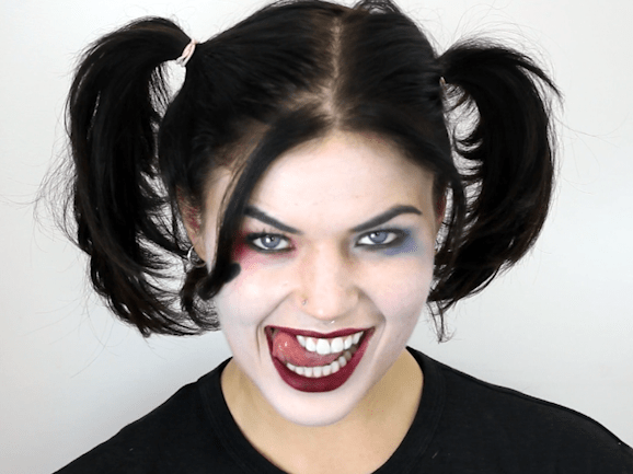 Here's how to get the perfect Harley Quinn makeup for Halloween 2016