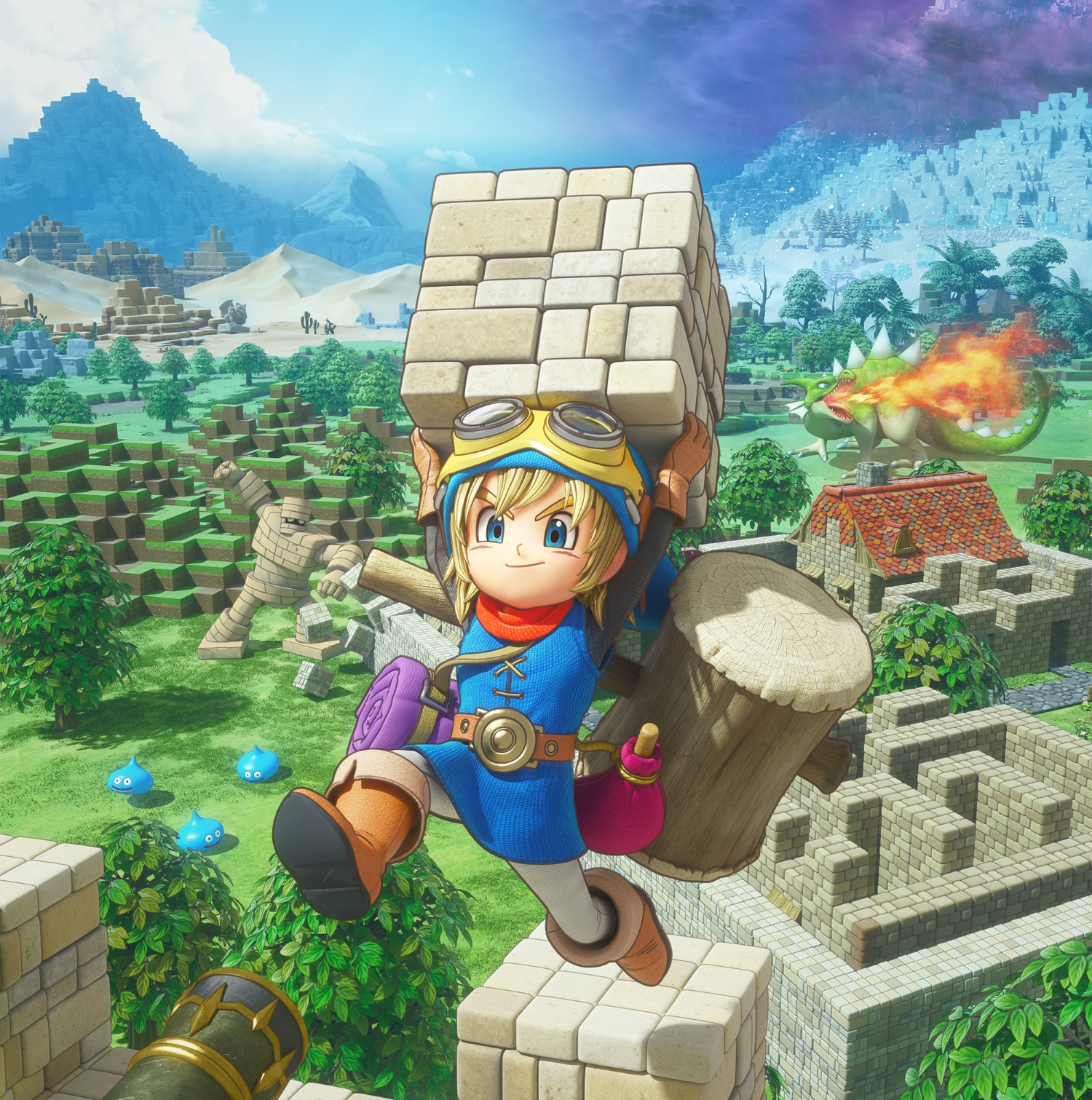 Dragon Quest Builders review – building on Minecraft's success