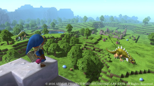 Dragon Quest Builders (PS4) - time to craft that dragon a new one