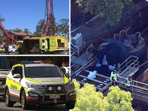 Four dead after water raft 'overturns' at theme park