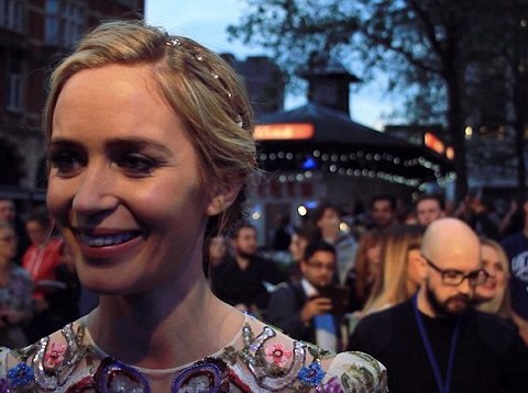 Emily Blunt is totally up for playing James Bond and reveals her weirdest ever train experience