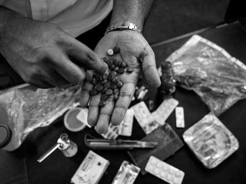 The dark world of Gaza's drug epidemic