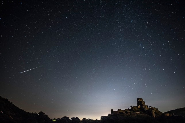 It's going to be the ORIONIDS meteor shower