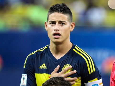 James Rodriguez receives death threats after pulling out of Colombia squad with injury