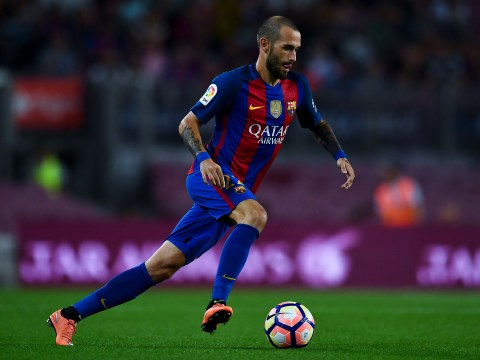 Barcelona's Aleix Vidal tells team-mates in the dressing room: 'I want to leave'