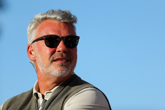 CHASKA, MN - OCTOBER 01: Captain Darren Clarke of Europe looks on from the 13th hole during afternoon fourball matches of the 2016 Ryder Cup at Hazeltine National Golf Club on October 1, 2016 in Chaska, Minnesota. (Photo by Scott Halleran/PGA of America via Getty Images)