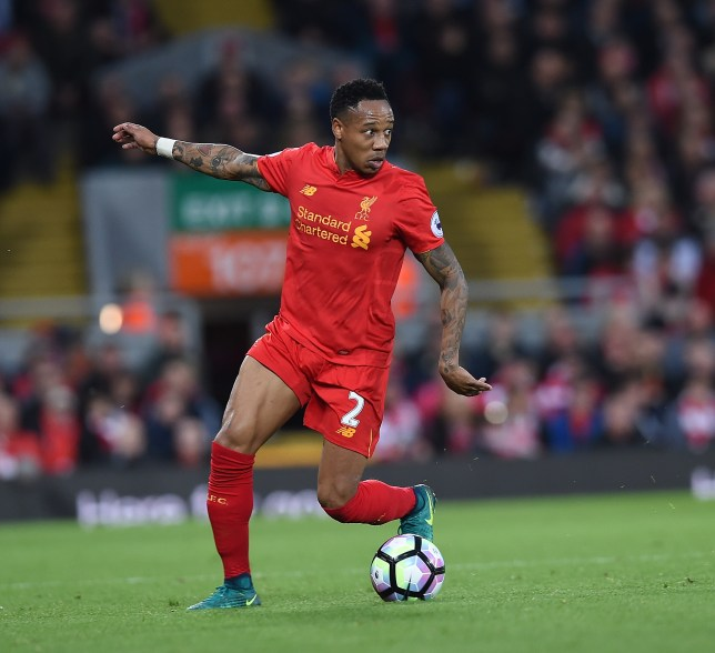 LIVERPOOL, ENGLAND - OCTOBER 22: (THE SUN OUT, THE SUN ON SUNDAY OUT) Nathaniel Clyne of Liverpool during the Premier League match between Liverpool and West Bromwich Albion at Anfield on October 22, 2016 in Liverpool, England. (Photo by John Powell/Liverpool FC via Getty Images)