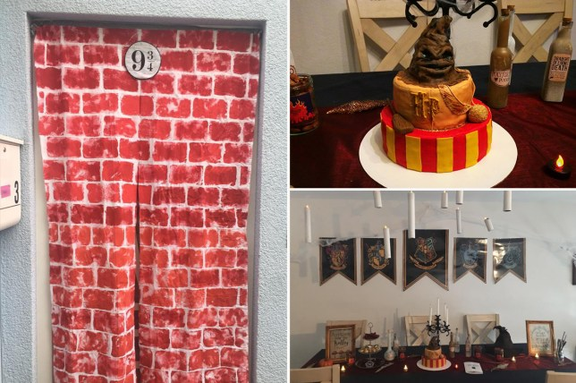 Amazing Harry Potter birthday party