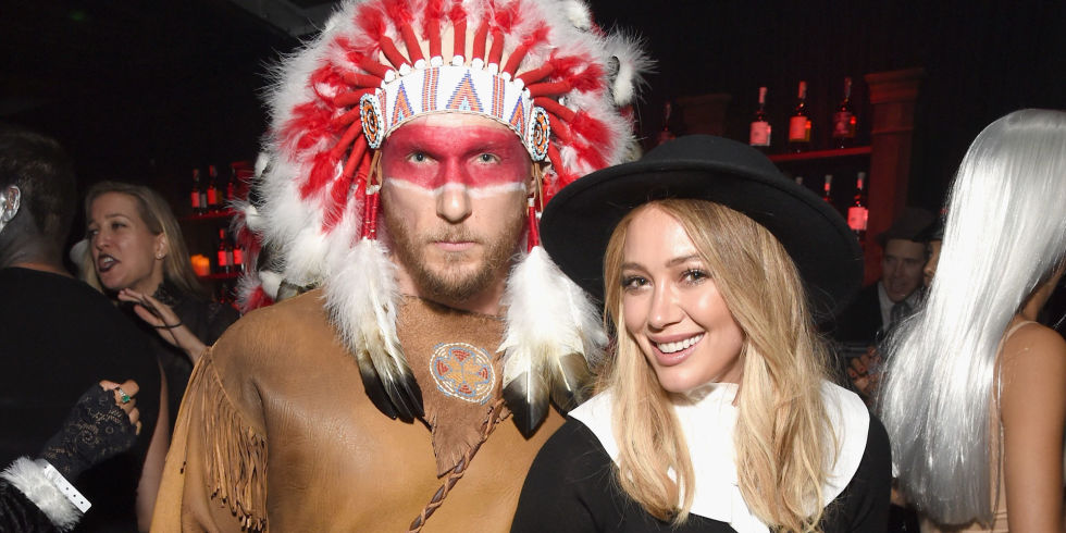 Hilary Duff apologises after wearing 'racist' costume to Halloween party