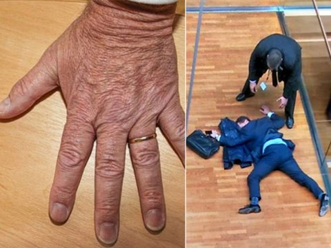 UKIP's Mike Hookem tweets photo of his hands to 'prove' he didn't punch Steven Woolfe
