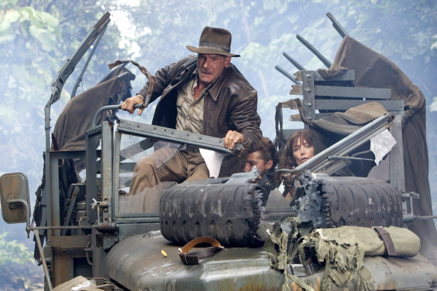 Indiana Jones creator George Lucas NOT involved with Indy 5