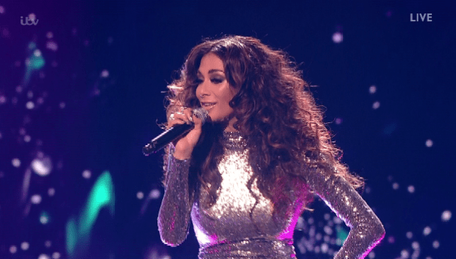 Nicole Scherzinger opened Diva Week on The X Factor with an astonishing performance (Picture: ITV)