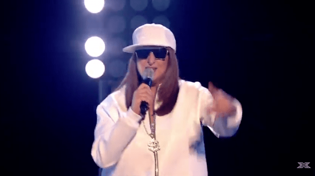 Honey G covered Ice Ice Baby for Divas Week (Picture: ITV)