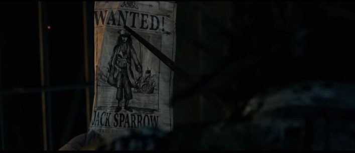 Jack Sparrow is a wanted man in Dead Men Tell No Tales. Again. (Picture: Disney)