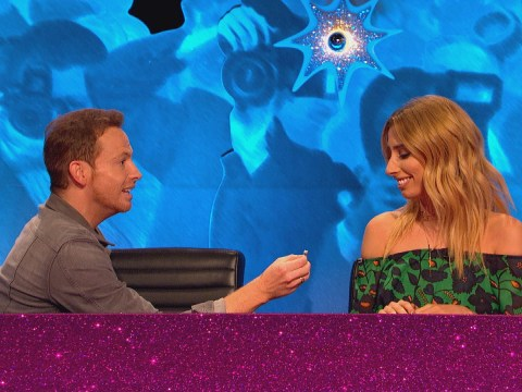 Joe Swash proposed to Stacey Solomon on Celebrity Juice but she didn't seem happy about it