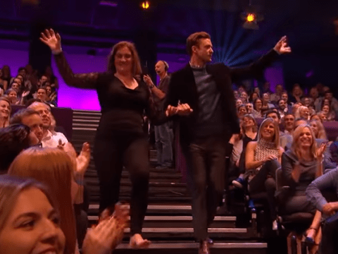 Justin Timberlake danced with the Graham Norton Show audience and we can't handle the cute
