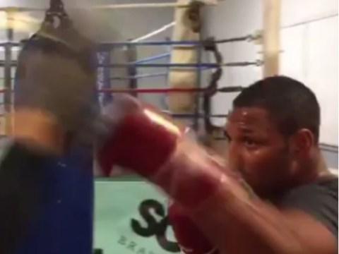 Video: Kell Brook is back in boxing gym after successful eye socket surgery caused by Gennady Golovkin punch