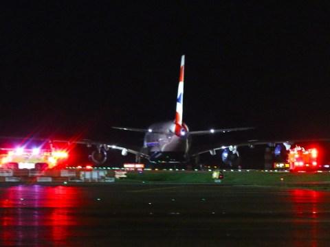 BA crew 'in hospital after emergency landing' en route to Heathrow