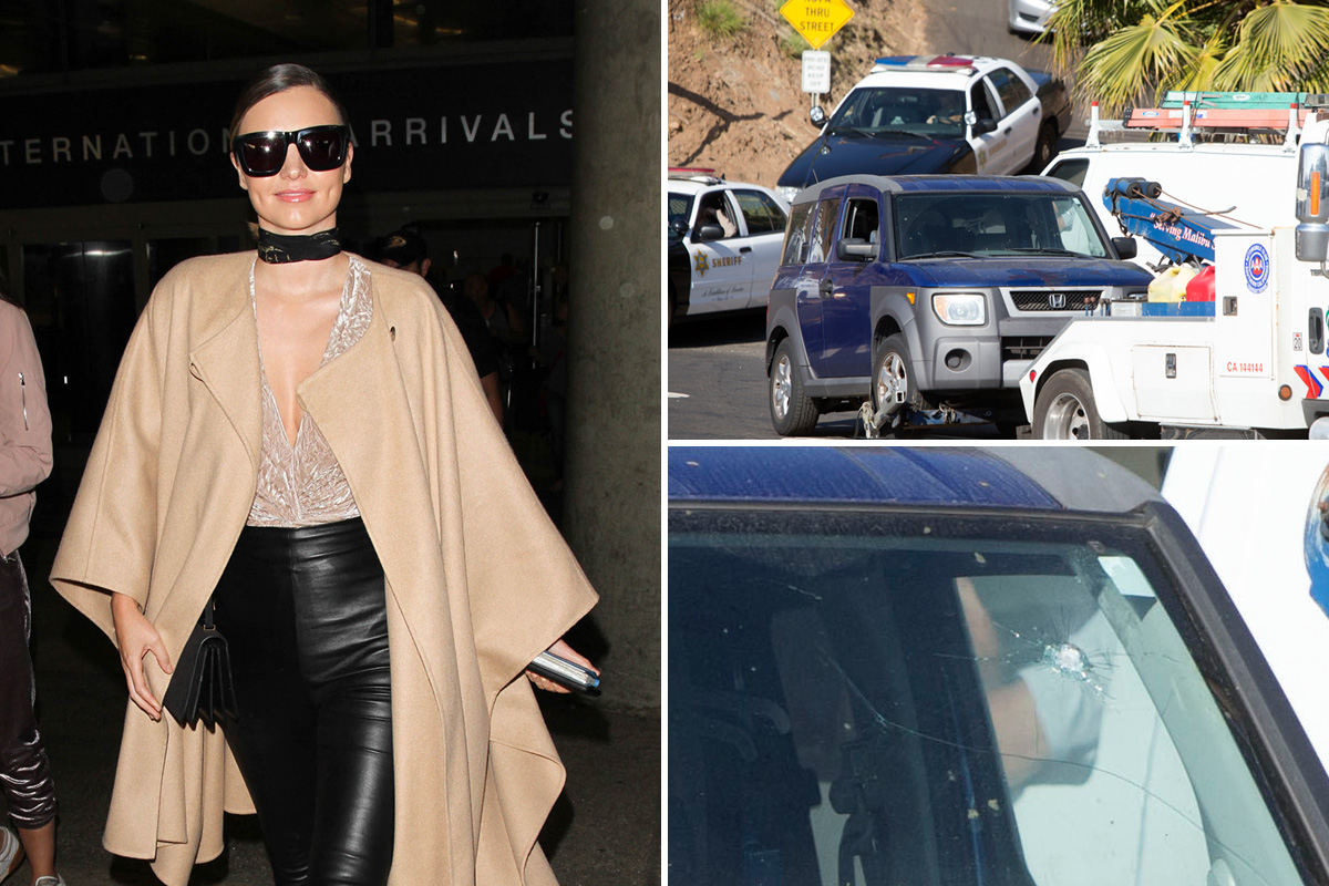 Miranda Kerr security guard stabbed in eye during fight with intruders at her Malibu home