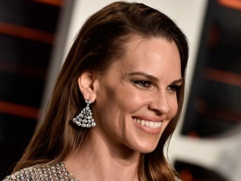 Hilary Swank claims she was offered 20 times less pay than a male co-star — after she won two Oscars