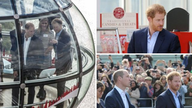 Prince Harry did what everyone else does at the top of the London Eye