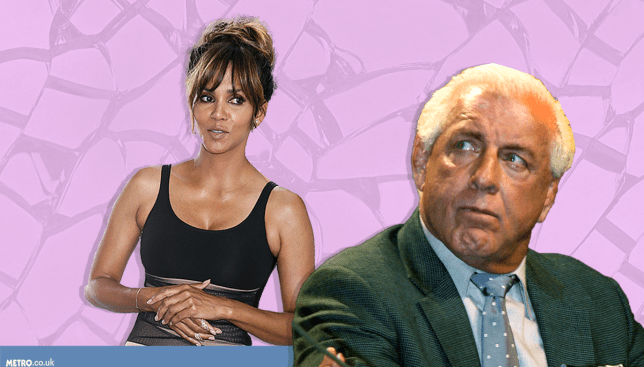 Halle Berry denies she had sex with Ric Flair Picture: REX Features/Alamy - Credit: METRO.co.uk