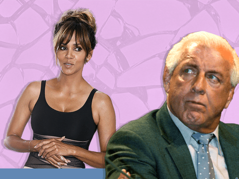 Halle Berry has denied Ric Flair's claims that he slept with her