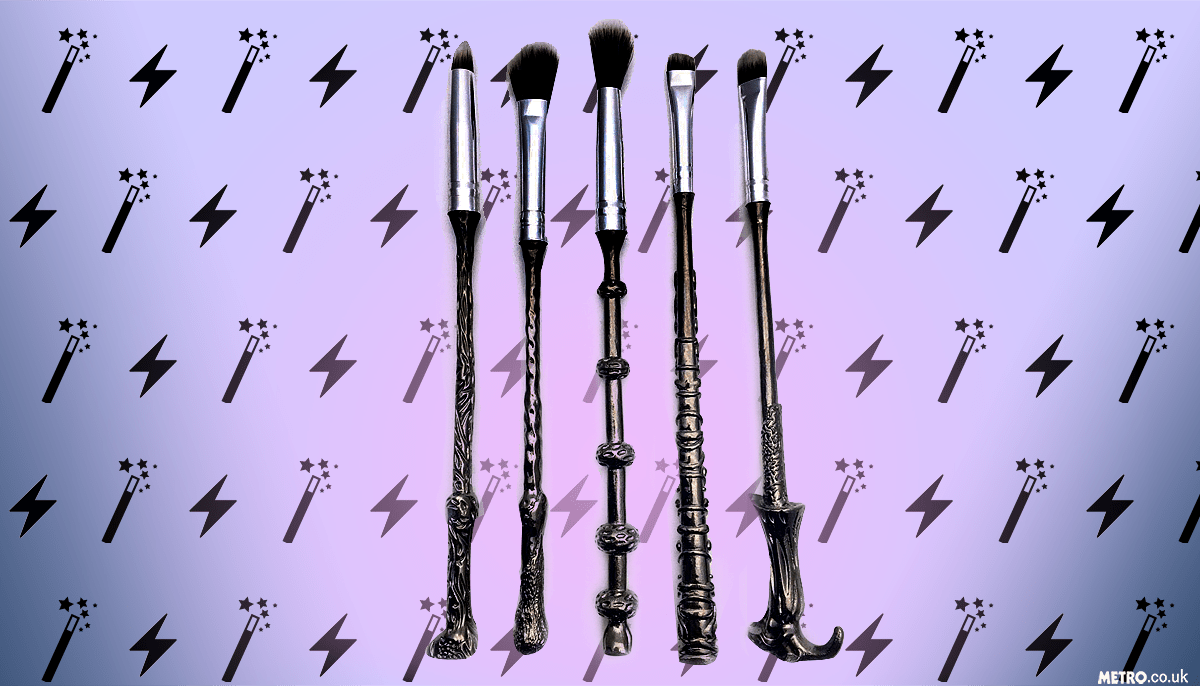 Harry Potter makeup brushes Picture: METRO.co.uk/Myles