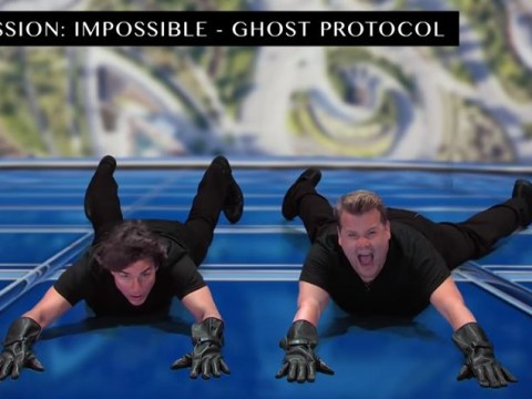 WATCH: Tom Cruise acts out his movie career with James Corden and it's hilarious