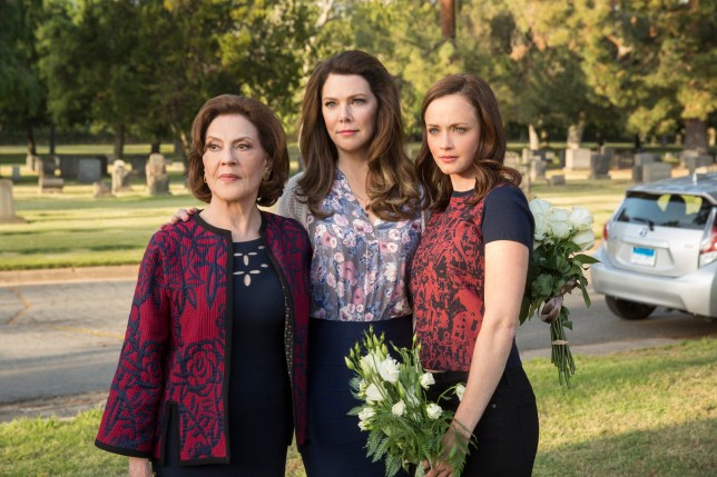 Emily Bishop, Lauren Graham, and Alexis Bledel (Picture: Netflix)