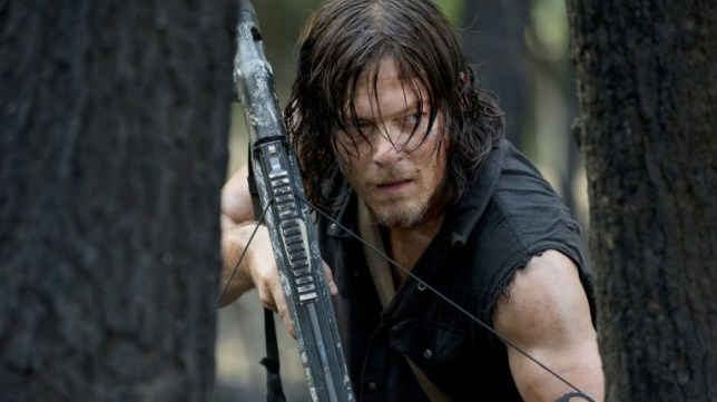 Norman Reedus as Daryl in The Walking Dead (Picture: AMC)