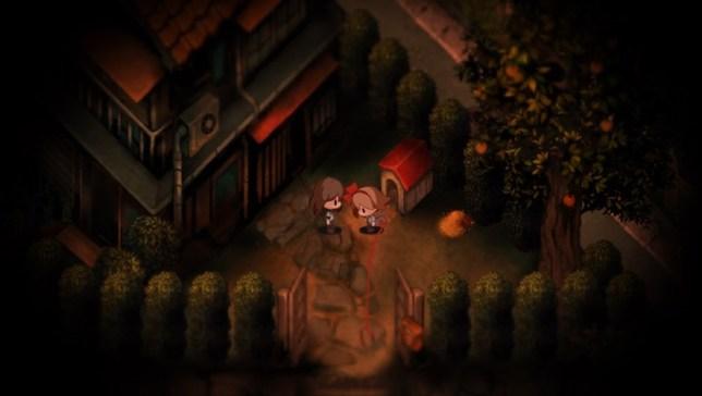 Yomawari: Night Alone (PSV) - the world's worst dog-walking sim