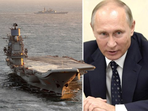 Putin's warships 'heading for British waters' prompts Royal Navy intervention