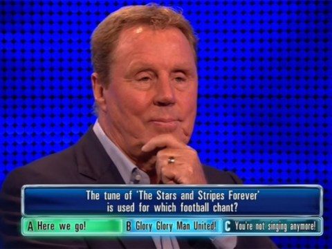 The Chase viewers can't believe that Harry Redknapp got a football question wrong